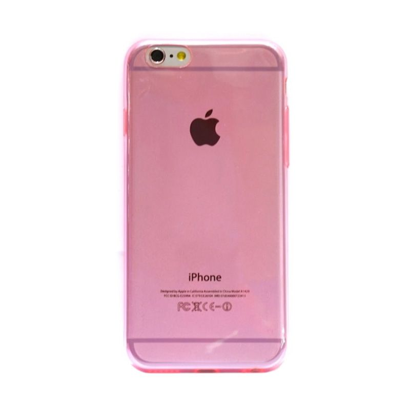 Hog TPU Slim Softpink Casing for iPhone 6