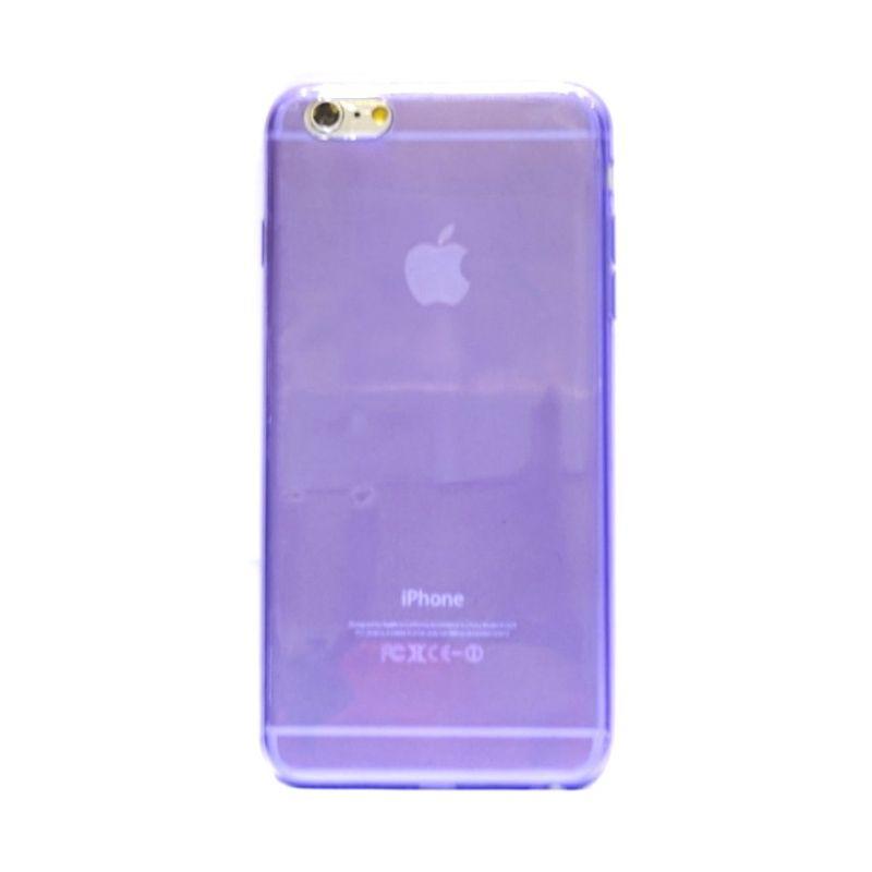 Hog TPU Slim Ungu Casing for iPhone 6 Plus