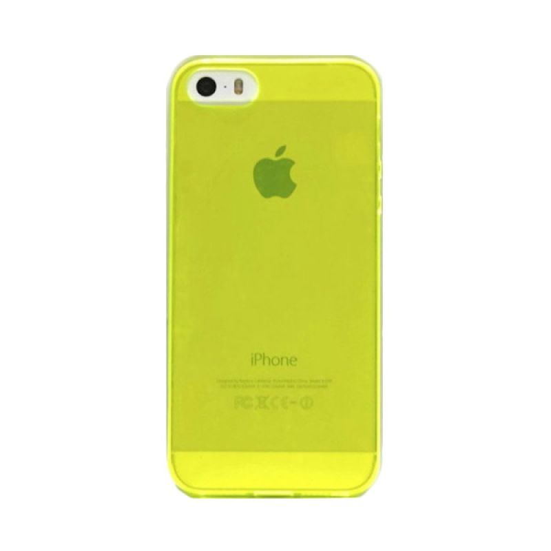 Hog TPU Slims Green Casing for iPhone 5 or 5S