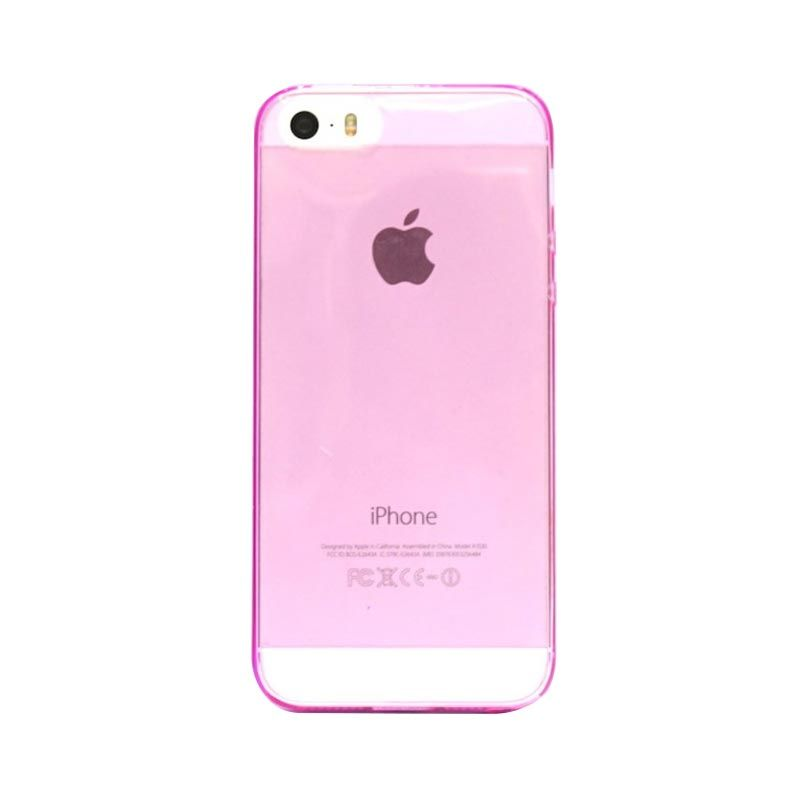 Hog TPU Slims Pink Casing for iPhone 5 or 5S