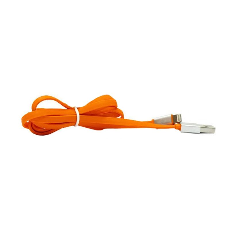 Joyroom Orange Lightning Cable For Iphone 5 or 5s or 6 or 6 Plus [1 m]