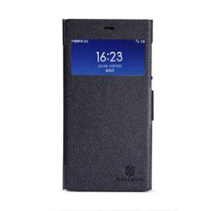 Nillkin Fresh Leather Black Casing for Xiaomi Mi3