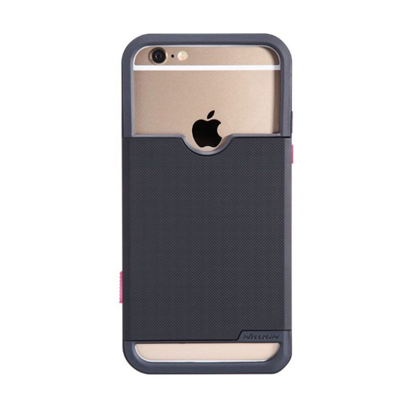 Nillkin Shield Show Photographic Hitam Casing For iPhone 6 Plus