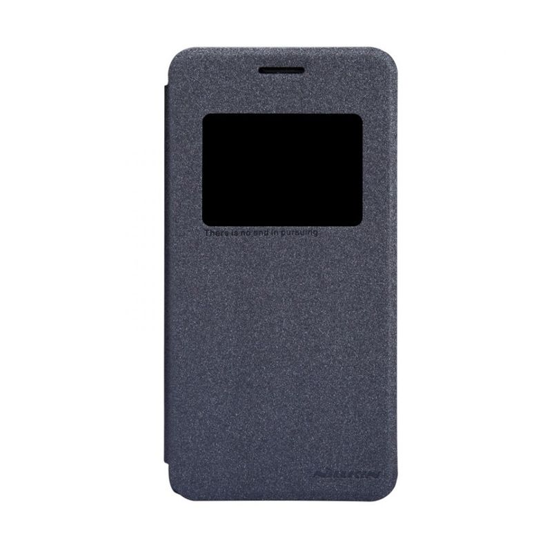 Nillkin Sparkle Leather Black Casing for Asus Zenfone 5