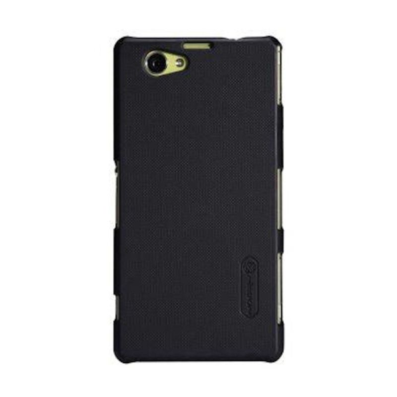 Nillkin Super Frosted Shield Black Casing for Sony Xperia Z1 Compact + Screen Guard