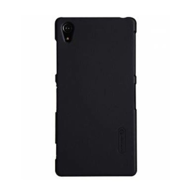 Nillkin Super Frosted Shield Hitam Casing for Sony Xperia Z2