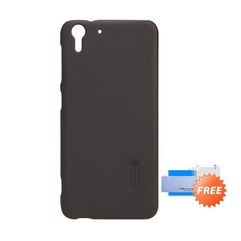 Nillkin Super Frosted Shield Black Casing for HTC Desire Eye + Screen Guard
