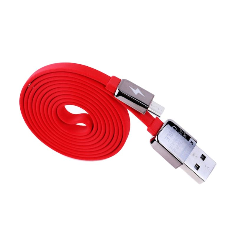 Remax KingKong Merah Lightning Cable For iPhone 5 or 5s or 6 or 6 Plus