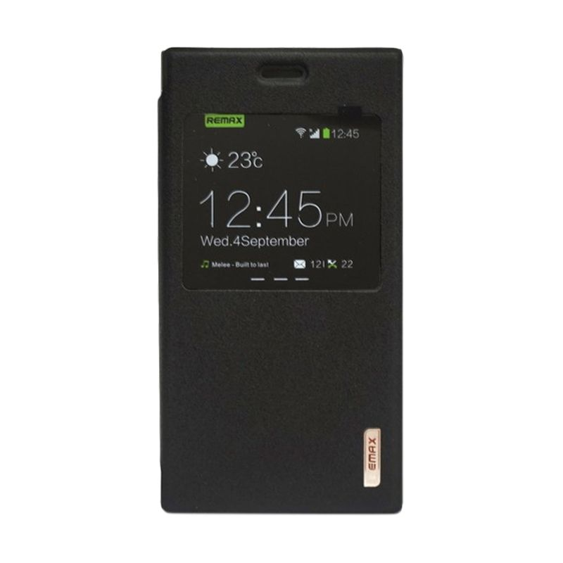 Remax Youth Hitam Flip Cover Casing For Xiaomi Mi3