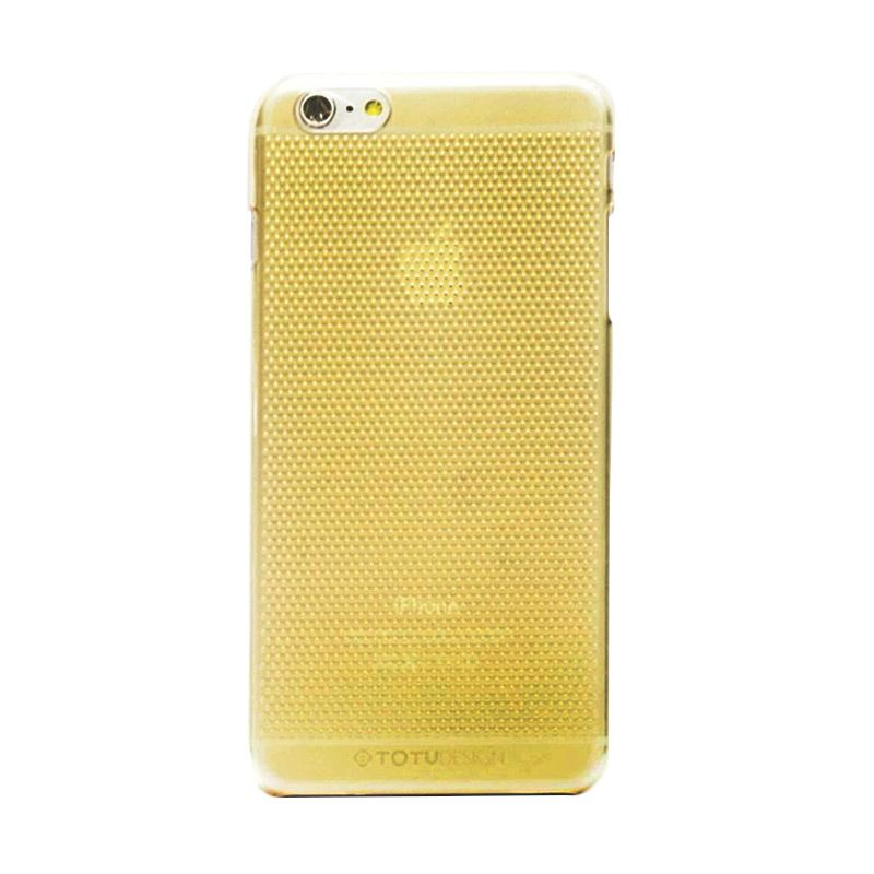 Totu Air Series Hollow Breathable Gold Casing For Iphone 6 Plus