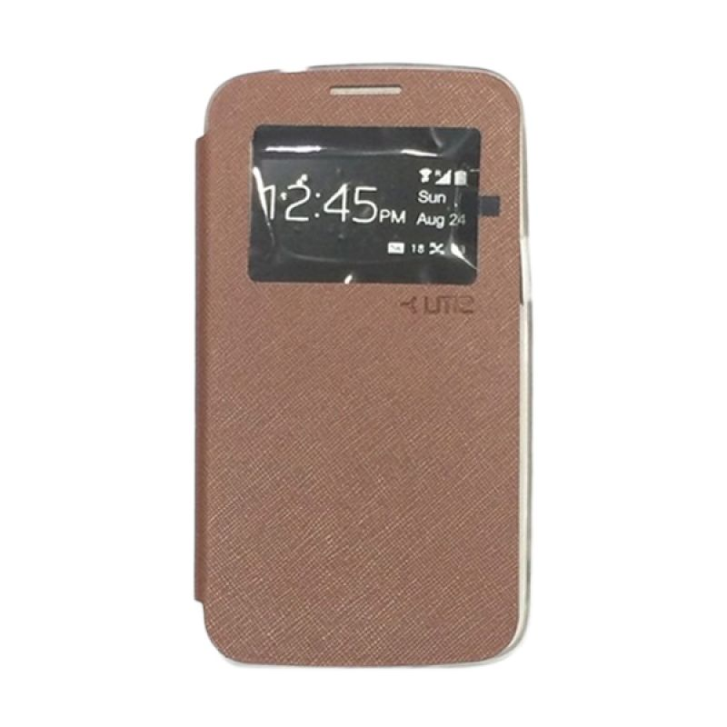 Ume Enigma View Cokelat Casing for Samsung Galaxy Grand 2