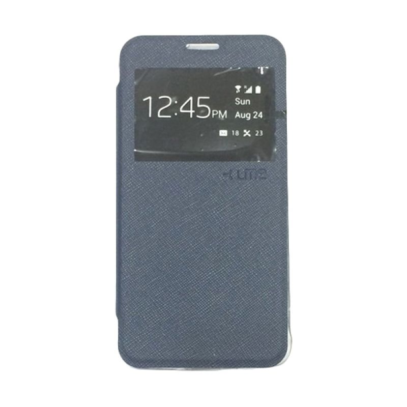 Ume Enigma View Navy Blue Casing for Samsung Galaxy Alpha