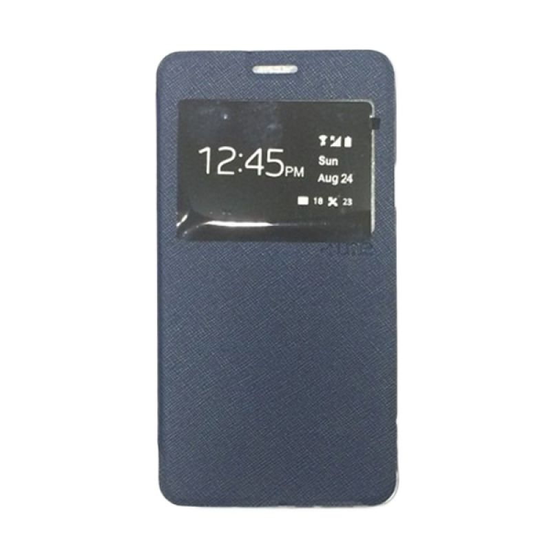 Ume Enigma View Navy Blue Casing for Samsung Galaxy Note 4