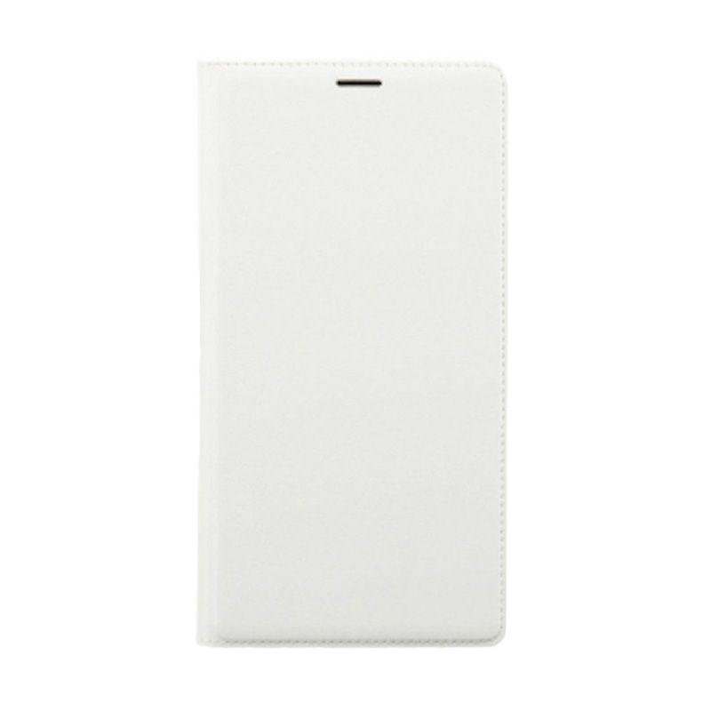 Universal Leather Putih Flip Cover Casing for Xiaomi Redmi Note