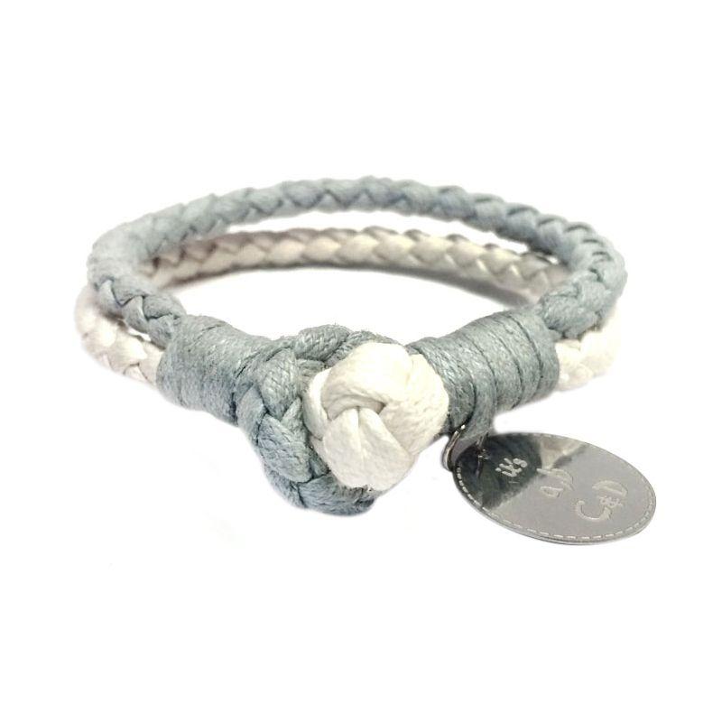 It's ABCD Arden YY Abu Putih Bracelet Gelang