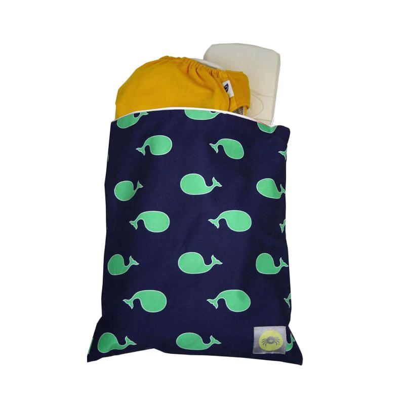 harga Itzy Ritzy Snack Whale Watching Medium Pouch - Blue [1 Pcs] Blibli.com