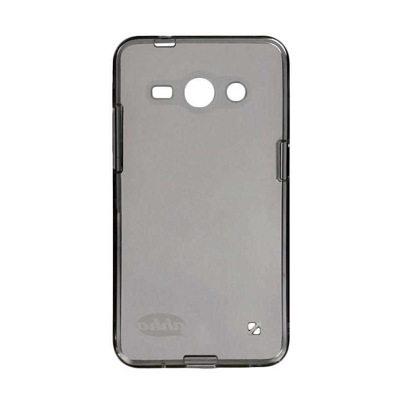 Ahha Moya Clear Hitam Casing for Samsung Galaxy Core 2