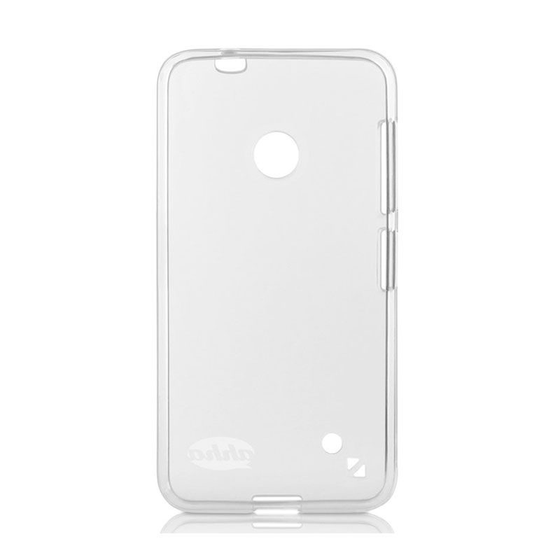 Ahha Moya Gummishell C White Soft Case Casing for Nokia Lumia 530