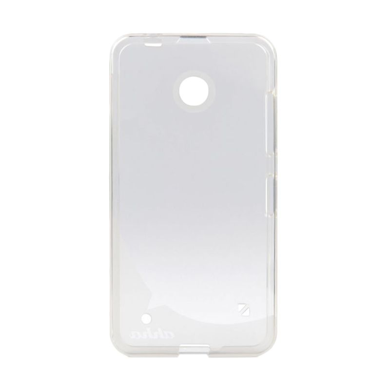Ahha Moya Gummishell Clear Soft Casing for Lumia 630