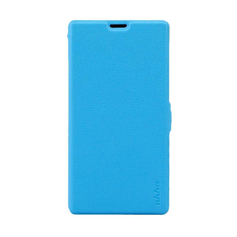 Ahha Reily Blue Flip Folder Casing for Sony Expria T3