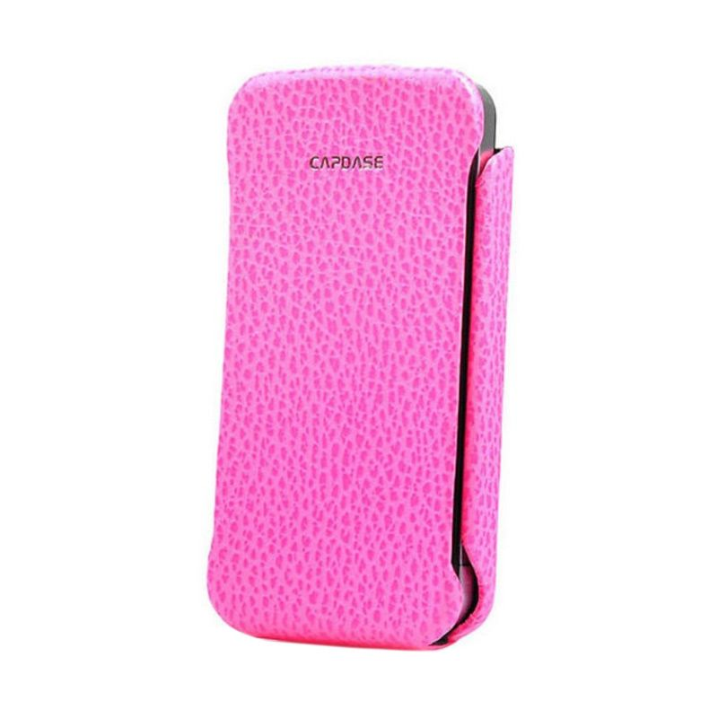 Capdase Capparel Royal Pink Casing For iPhone 4S