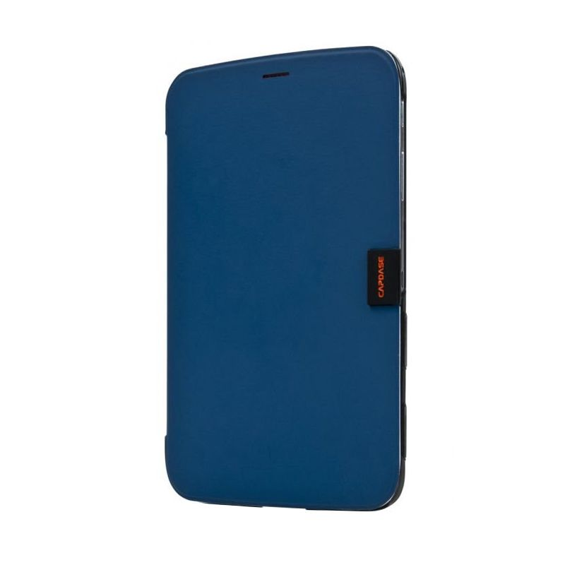 Capdase Karapace Jacket Elli Biru Casing for Samsung Galaxy Tab 3.8