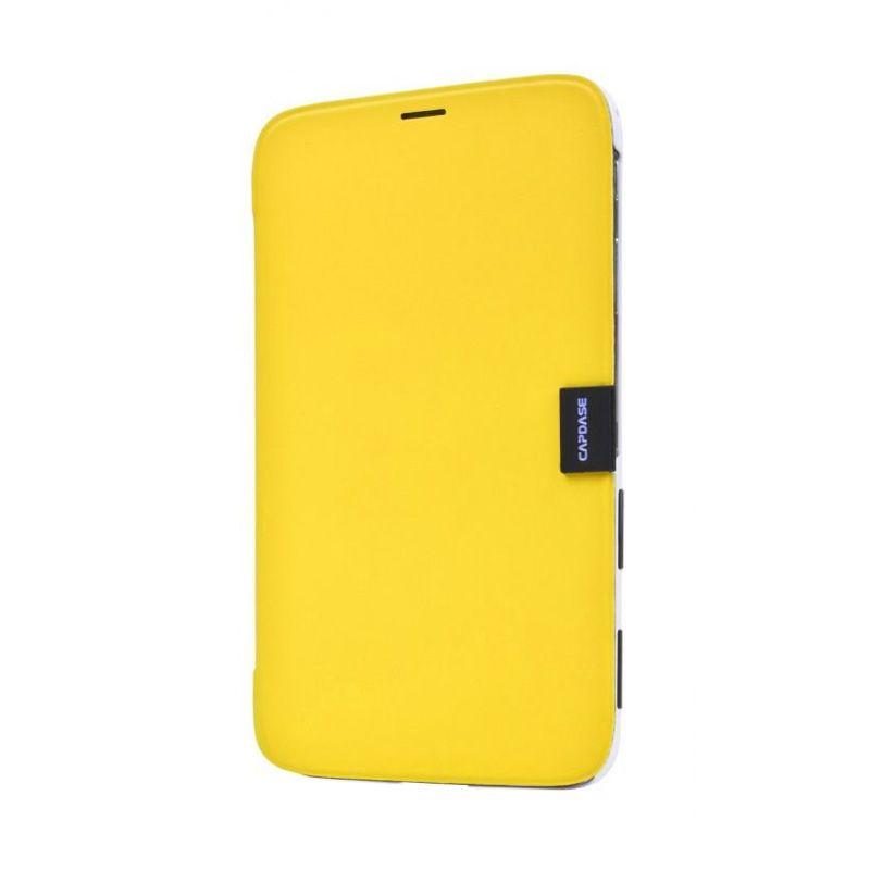 Capdase Karapace Jacket Elli Kuning Casing for Samsung Galaxy Tab 3.8