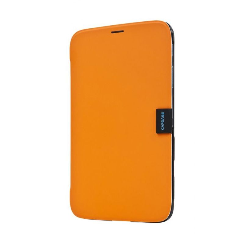 Capdase Karapace Jacket Elli Orange Casing for Samsung Galaxy Tab 3.8