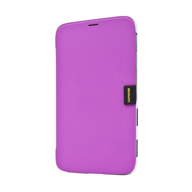 Capdase Karapace Jacket Elli Fuchsia Casing for Samsung Galaxy Tab 3.8