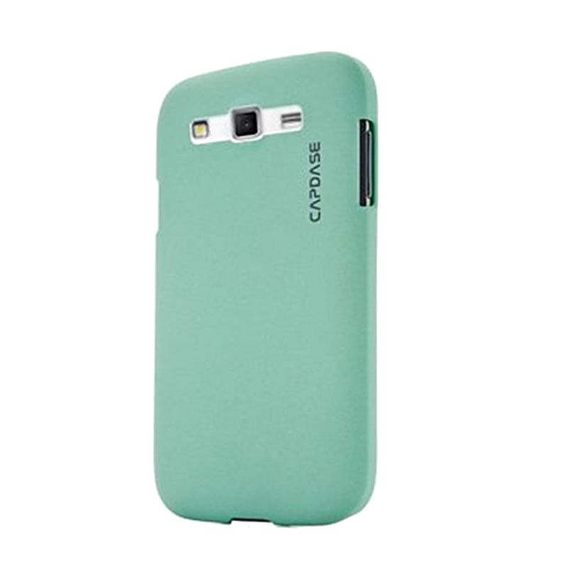 Capdase Karapace Jacket Touch Hijau Casing for Galaxy Grand 2