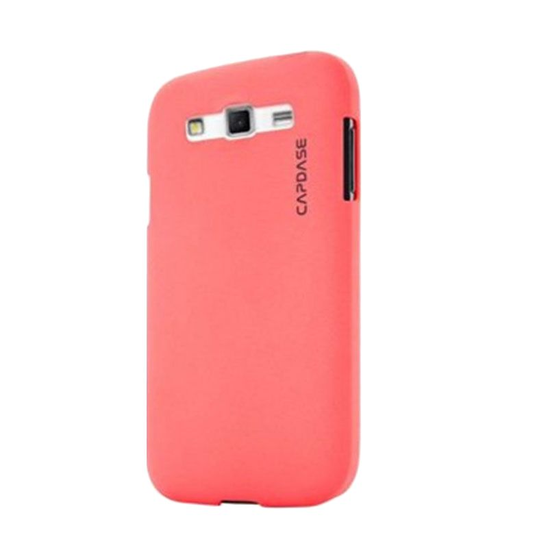 Capdase Karapace Jacket Touch Pink Casing for Galaxy Grand 2