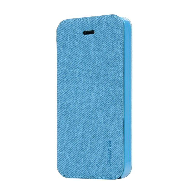Capdase Sider Baco Folder Biru Casing for iPhone 5S