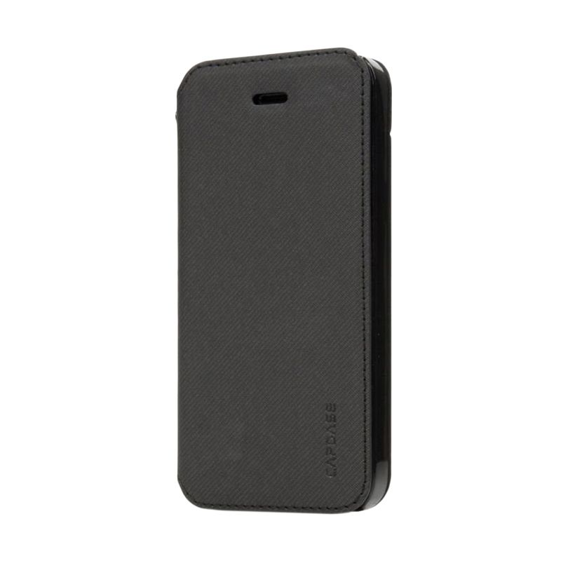 Capdase Sider Baco Hitam Folder Case for iPhone 5S