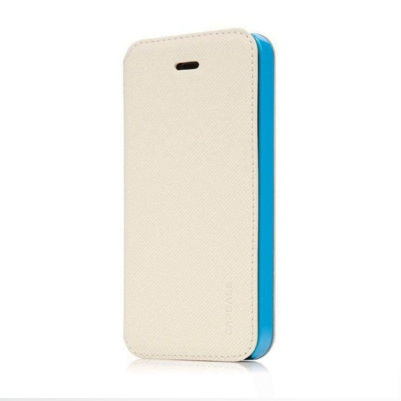 Capdase Sider Baco Folder Putih Casing for iPhone 5S
