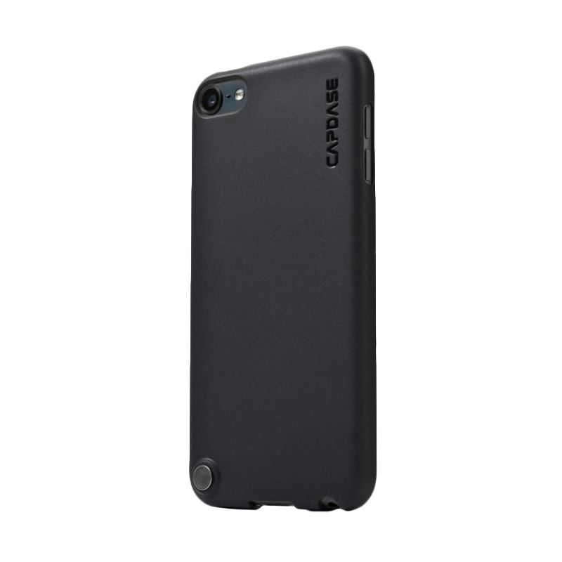 Capdase Soft Jacket Hitam Casing for iPod Touch 5S
