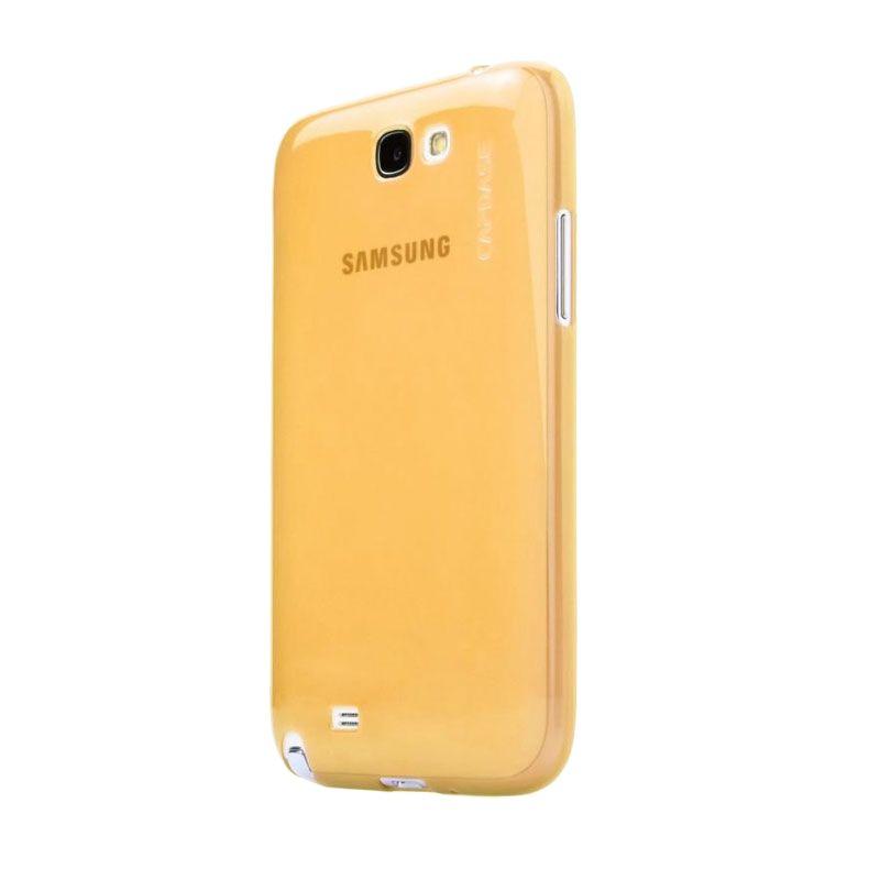 Capdase Soft Jacket Lamina Kuning Casing for Galaxy Note 3