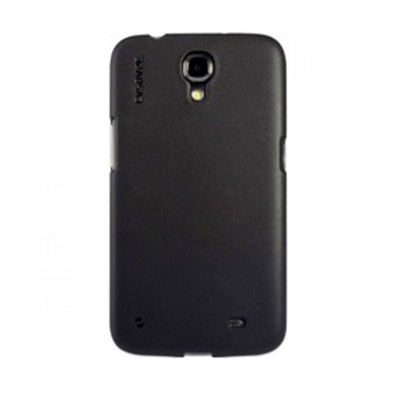 Capdase Soft Jacket Solid Hitam Casing for Galaxy Mega 6.3
