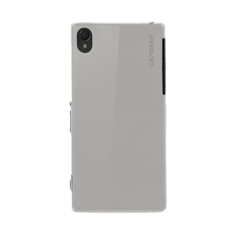 Capdase Soft jacket Tinted Putih Casing for Sony Xperia Z2