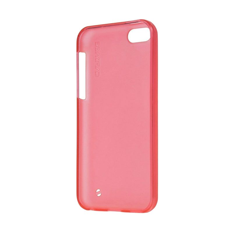 Capdase Soft Jacket Xpose Tinted Red Casing for iPhone 5C