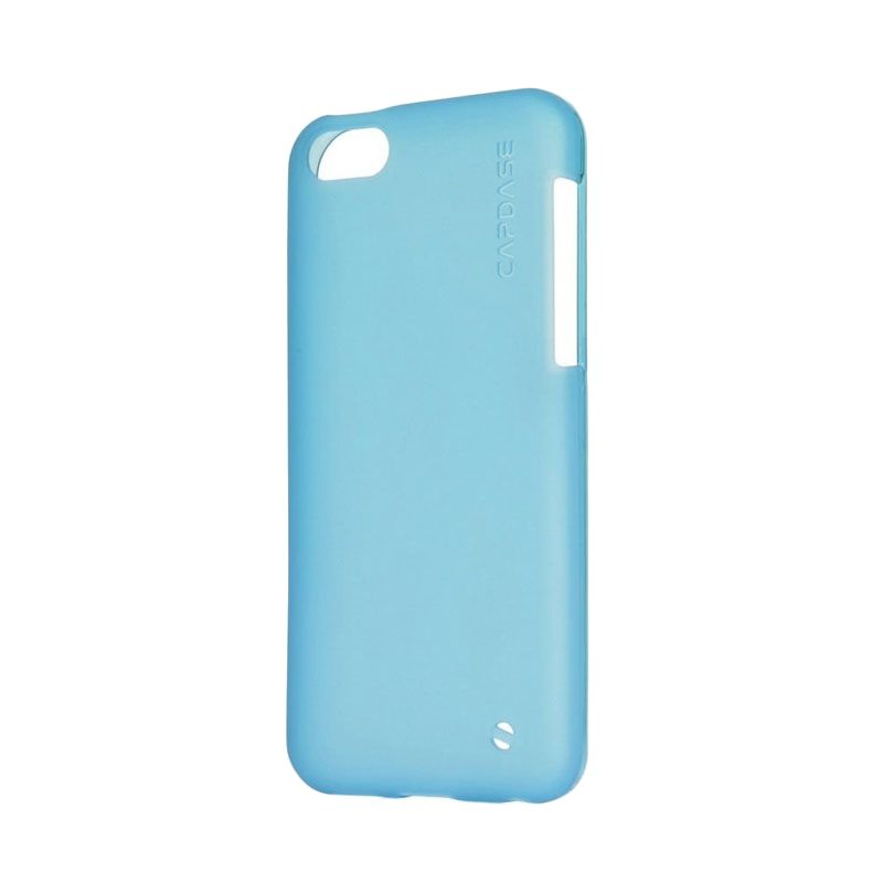 Capdase Soft Jacket Xpose Tinted Blue Casing for iPhone 5C