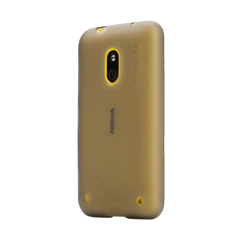 Capdase Soft Jacket Tinted Hitam Casing for Nokia Lumia 620