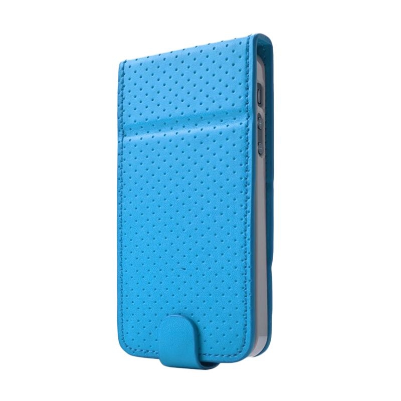 Capdase Upper Polka Blue Casing for iPhone 5 or 5S