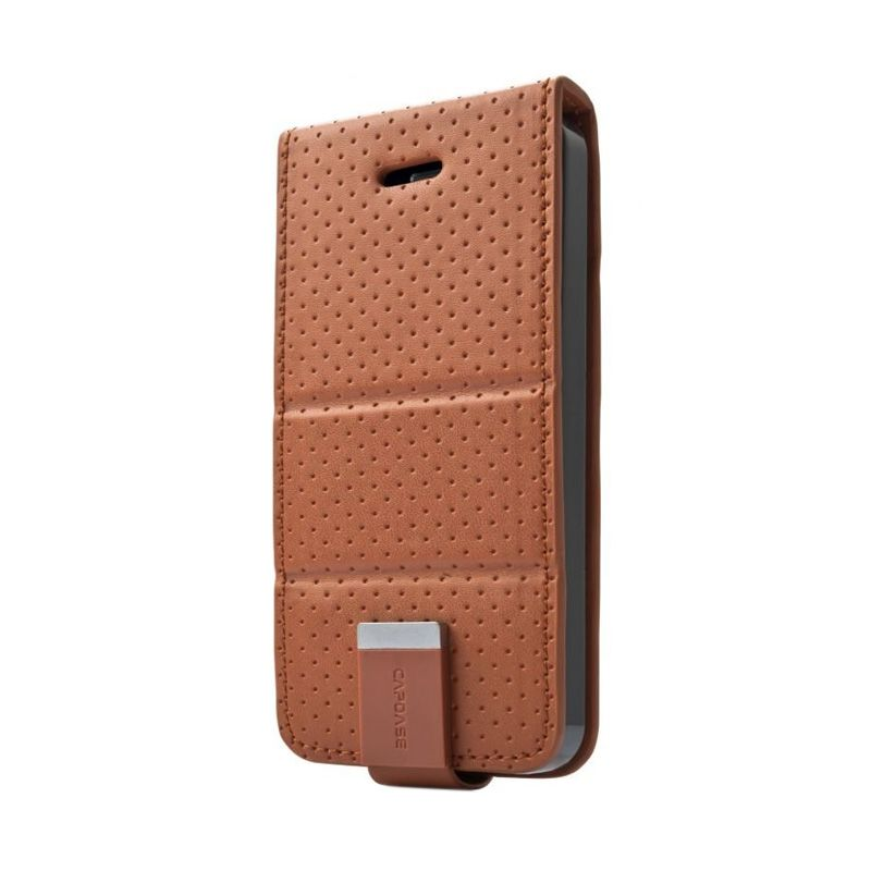 Capdase Upper Polka Brown Casing for iPhone 5 or 5S