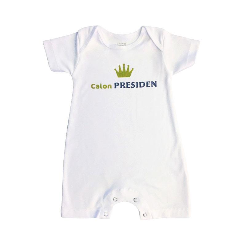 54e3581a5 Jual J Baby Romper Calon Presiden Baju Jumpsuit Bayi Online - Harga ...