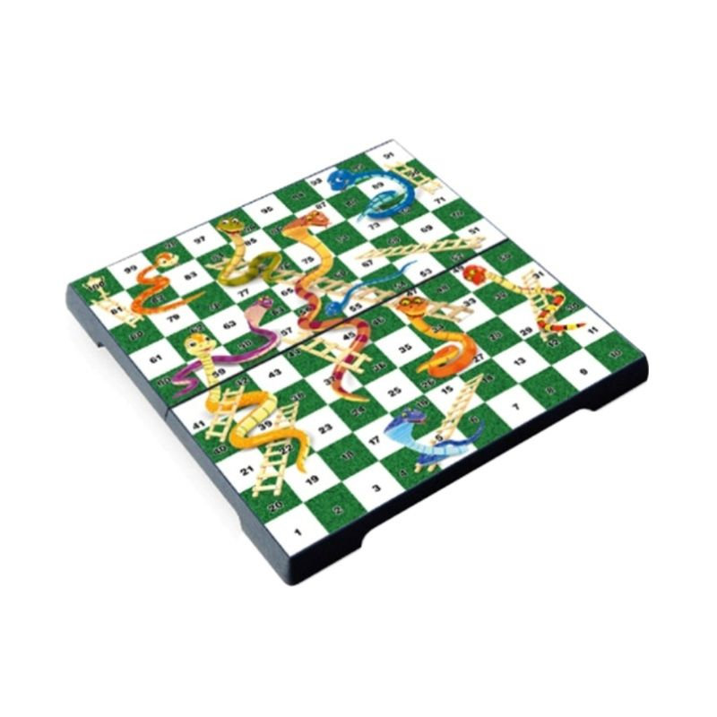 UB M Folding Snakes And Ladders 2610 Mainan Anak