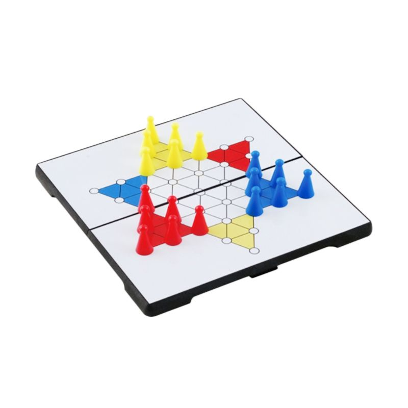 UB M Folding Chinese Checkers 1524 Mainan Anak