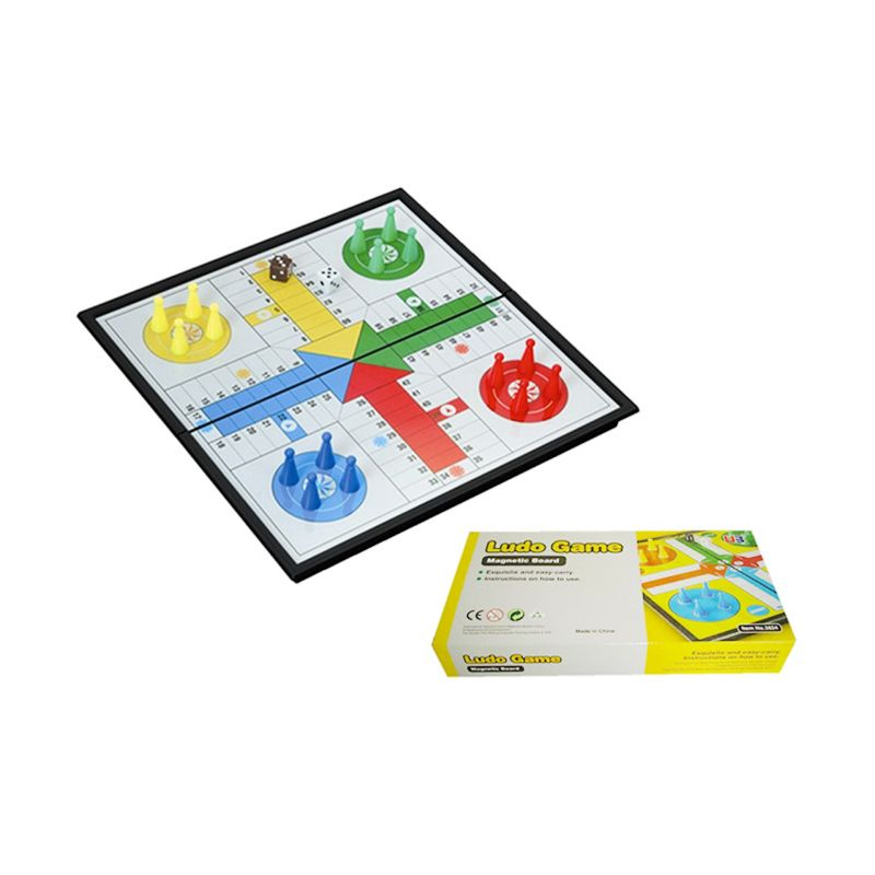 UB M Folding Ludo Game 3824 Mainan Anak