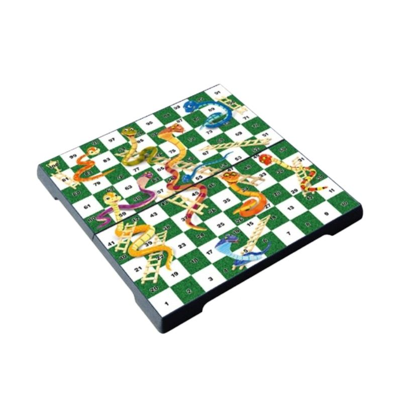 UB M Folding Snake And Ladders Game 1550 Mainan Anak