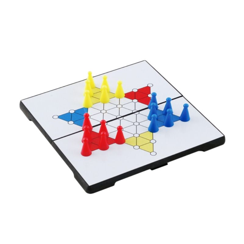 UB Magnetic Folding Chinese Checkers 1524 Putih Mainan Anak