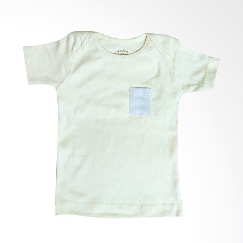 J Baby Polos T-Shirt 10 Kuning Atasan Bayi